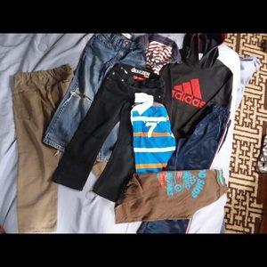 Other - Boys bundle Adidas, Levi, etc size 5/6